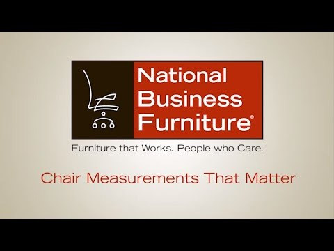 Chair Measurements that Matter   National Business Furniture