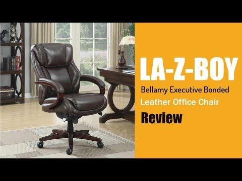 La Z Boy Bellamy Executive Bonded Leather Office Chair