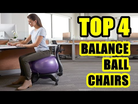 TOP 4: Best Balance Ball Chair for Home and Office Desk 2021 | Premium Ergonomic Chairs