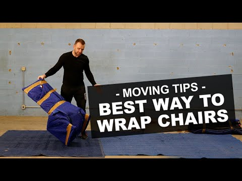 Best Way to Wrap Chairs - Tips From A Moving Pro!