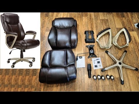 🛠️ DIY: How to assemble an Amazon Basics Office Chair. Complete setup tutorial and instructions