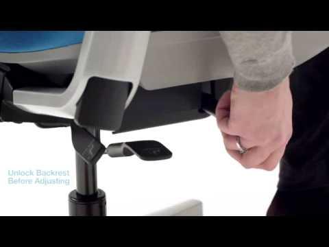 Amia chair - adjustability
