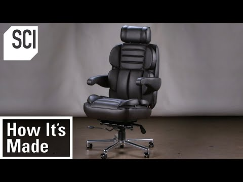 How It's Made: Office Chairs