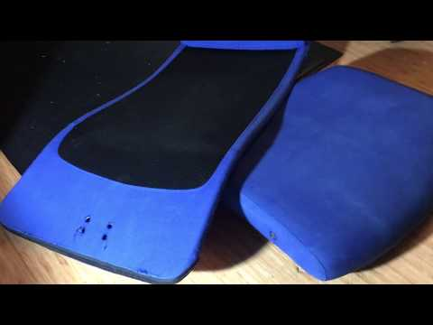 RIT Dye Ikea Markus Chair Fabric Restore DIY fail