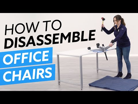 How To Disassemble Office Chairs