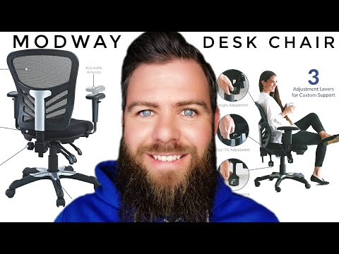 Modway Desk Chair 💺 Unboxing - Assembly - First Impressions - 2020 Best