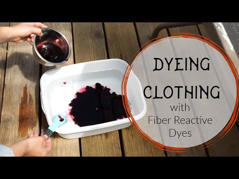 Dyeing with Fiber Reactive Dyes