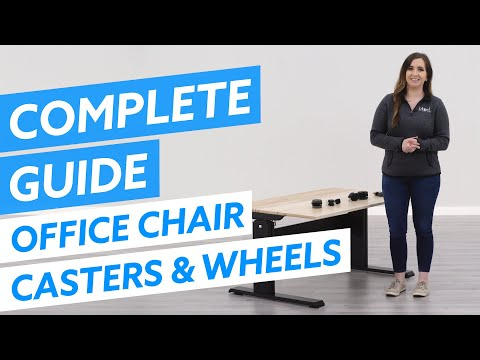 The Complete Office Chair Casters & Wheels Guide