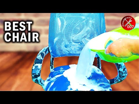Cleaning Mesh Office Chair Seat | How to Clean Computer Chair | Budget Small Home Office