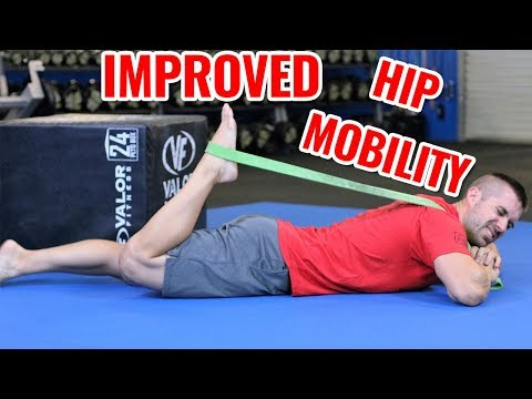 PNF Stretching for Hip Flexors - Increase Hip Mobility