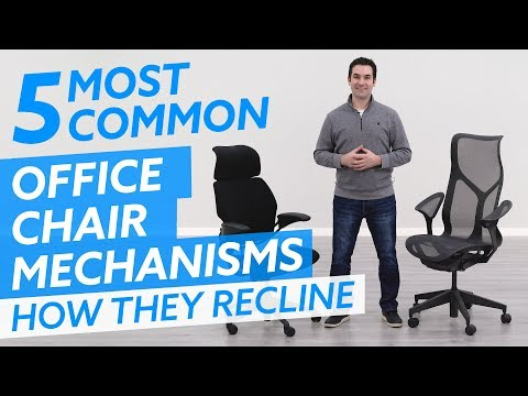 5 Most Common Office Chair Tilt Mechanisms: How Office Chairs Recline