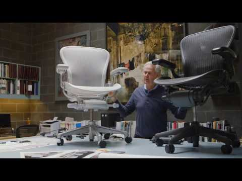 Introducing the new Aeron® from Herman Miller®.