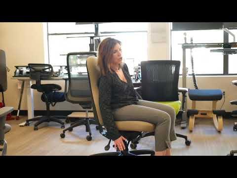 How to Tilt Your Seat Pan for Maximum Ergonoic Benefit