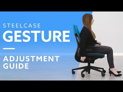 How-To: Adjust The Steelcase Gesture Chair