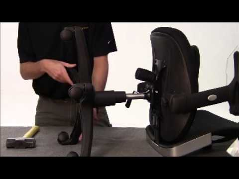 How to Remove and Replace a Chair's Gas Cylinder
