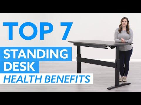 Top 7 Health Benefits Of Standing Desks