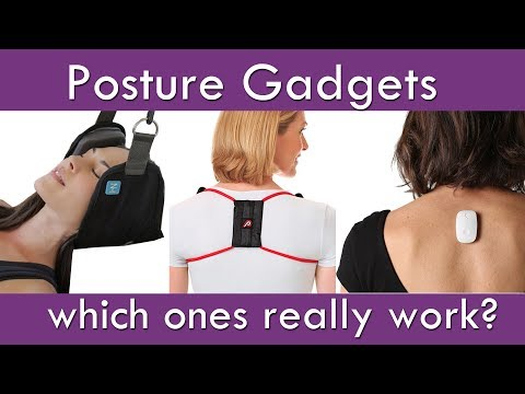 Posture Gadgets: Which Ones Really Work? (Don't waste your money!)