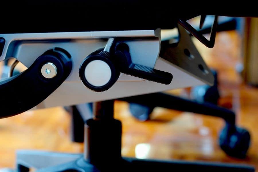 knobs under office chair