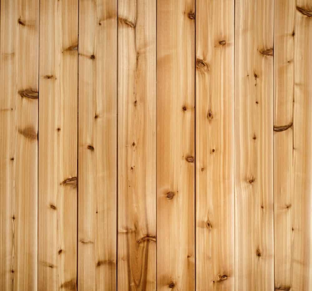Cedar wood plank for Adirondack Chairs
