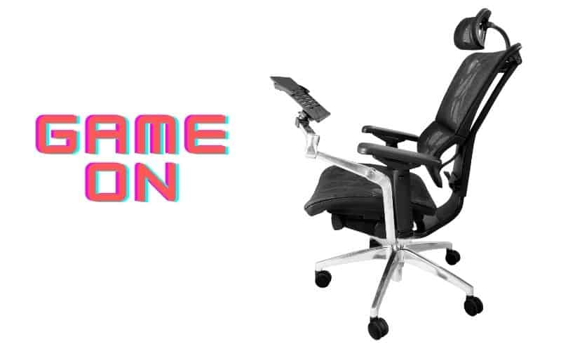 mesh chairs for games