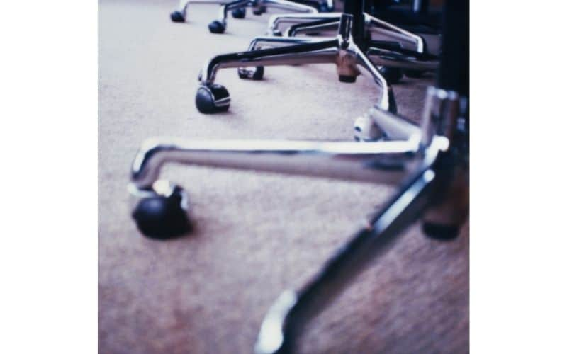 office chair with 5 wheels