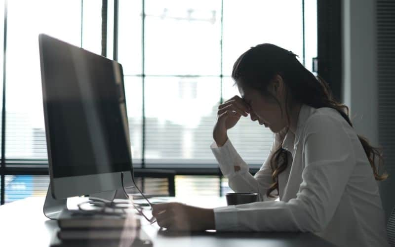Depression in offices