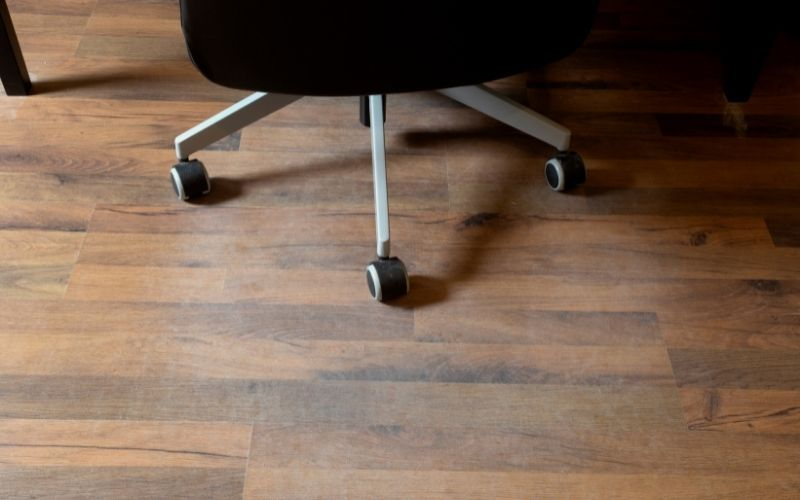 Office Chair & Laminate Floor