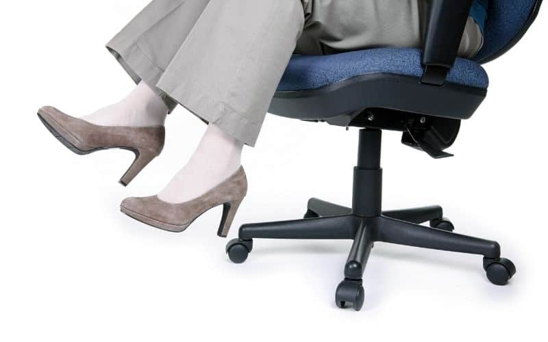 Poor sitting posture can cause coccydynia