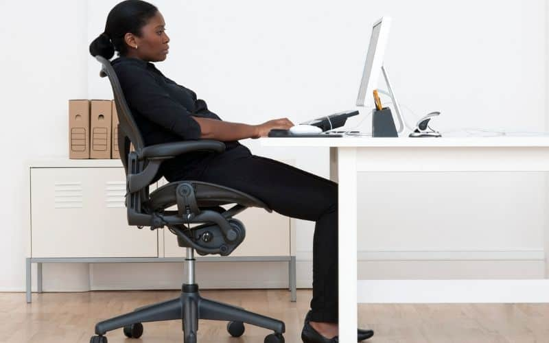 Slouching at the Desk 2