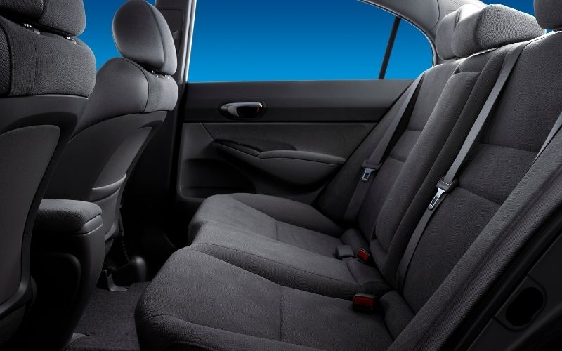 car backseat can be removed