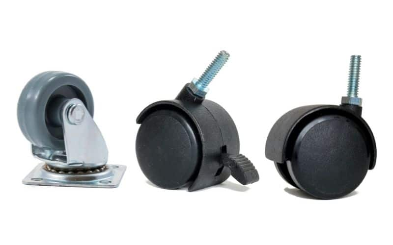 office chair caster types